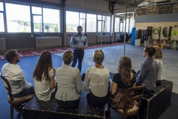 Marc Dietschi unterrichtet Meditation