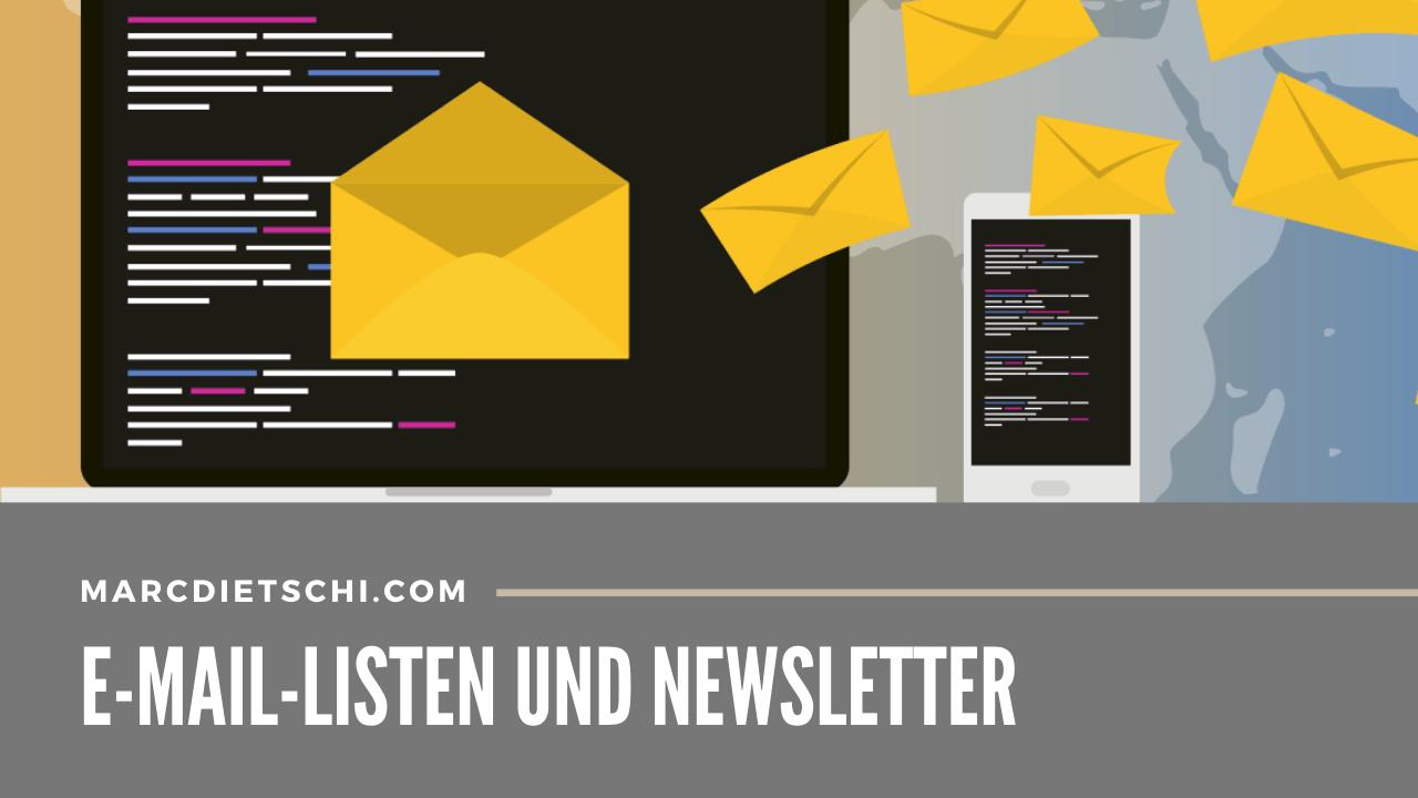 email listen newsletter - E-Mail-Listen & Newsletter erstellen